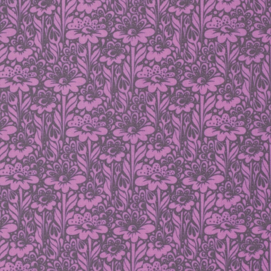 Tula Pink True Colors Daisy Buds Wisteria