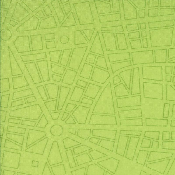 City Map Lime