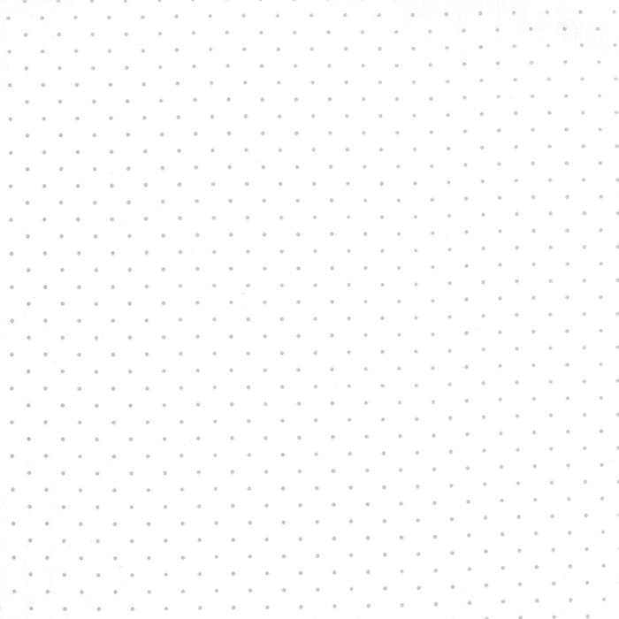 Modern Background Paper Pindot Silver White