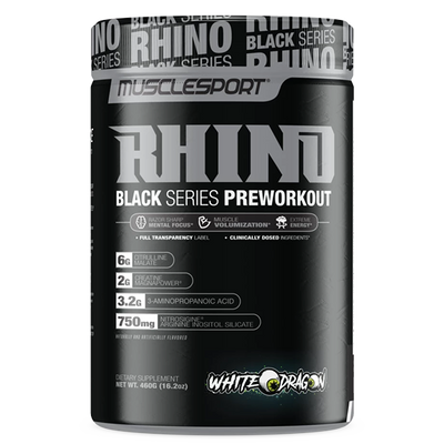 MuscleSport Rhino Black