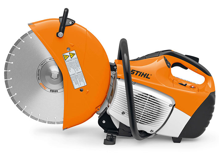STIHL TS400 with Extended Guard