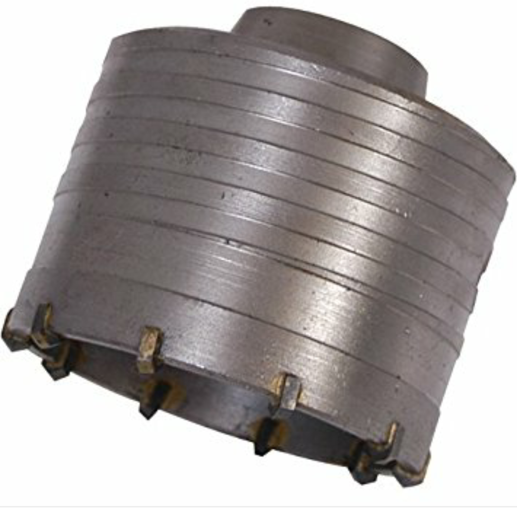 Tungsten Carbide Core Bits- Hollow-Solid Breakthrough 55mm-150mm SDS MAX 400mm L