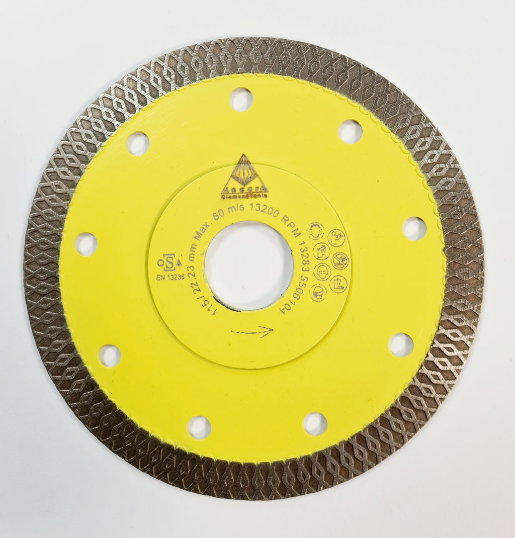 HSD PTC 115       Porcelain Tile Blade 0115mm x  1.2mm Ultra Thin