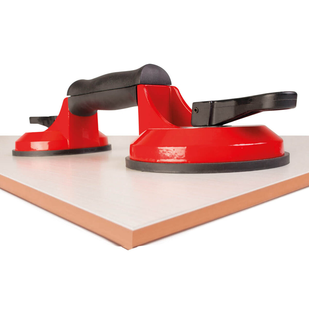 Rubi  - Double suction cup- Smooth Surfaces 66900 / Textured Surfaces 66952 55Kg