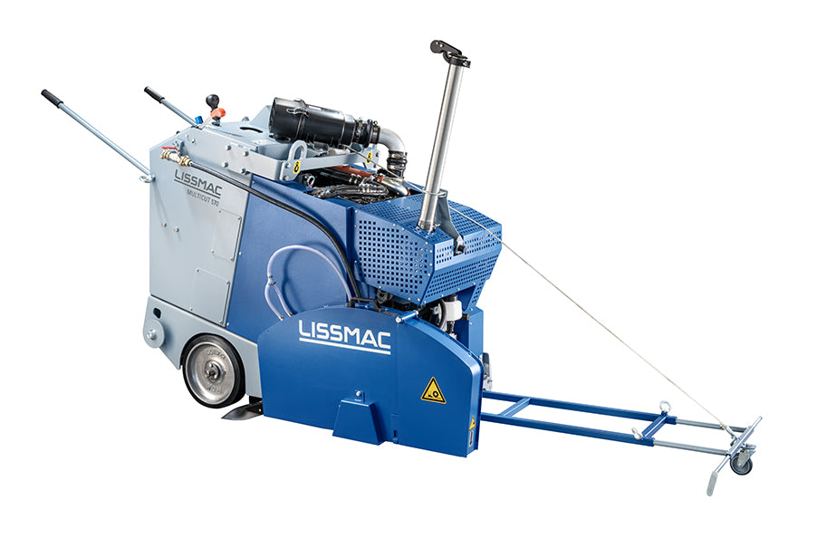 Lissmac MULTICUT 570- Stage 5 Diesel Powered Road / Floor  Saw