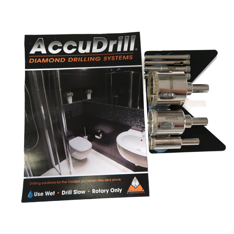 AccuDrill Wet Core Drill Bits Bundle BIK