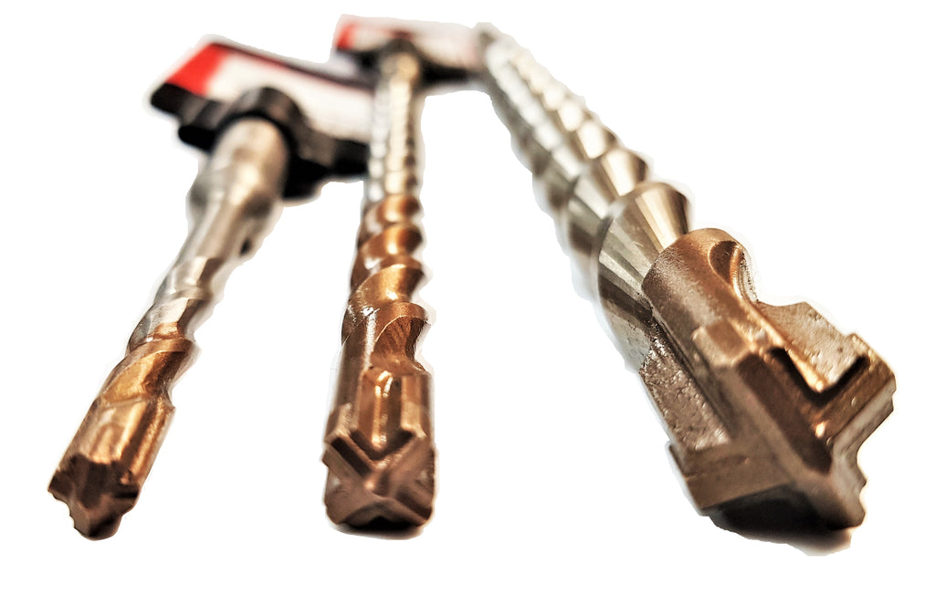 Armeg SDS Plus Drill Bits Cross Head - 10mm Shaft