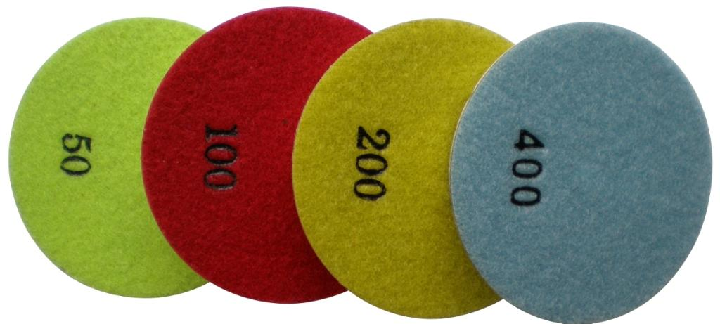 DH26007 Diamond Floor Polishing Pads Concrete Dry