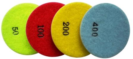 DH26008 Diamond Floor Polishing Pads Marble Wet
