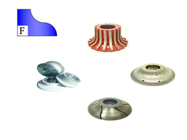 CNC Profile Wheels - Profile F