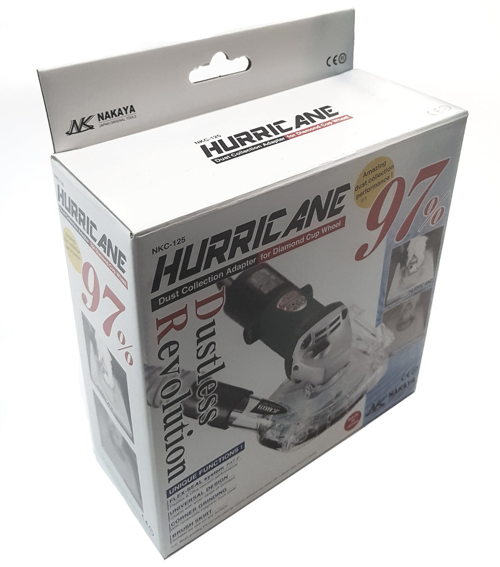 Hurricane DGG 125 - 125mm Clear Grinding Guard/ Dust Shroud