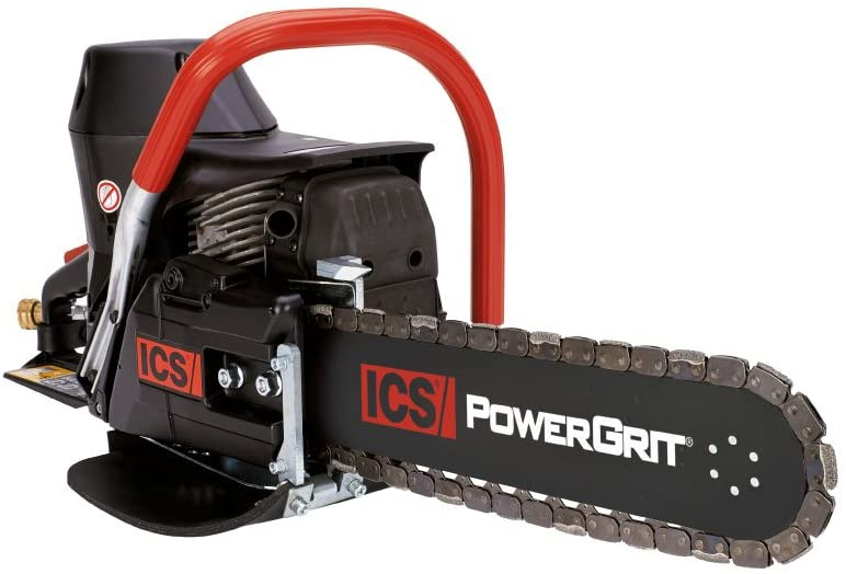 ICS 680ES PG 10 Petrol Cutter Package with 25cm FORCE4 Guidebar PowerGrit-25 Chain