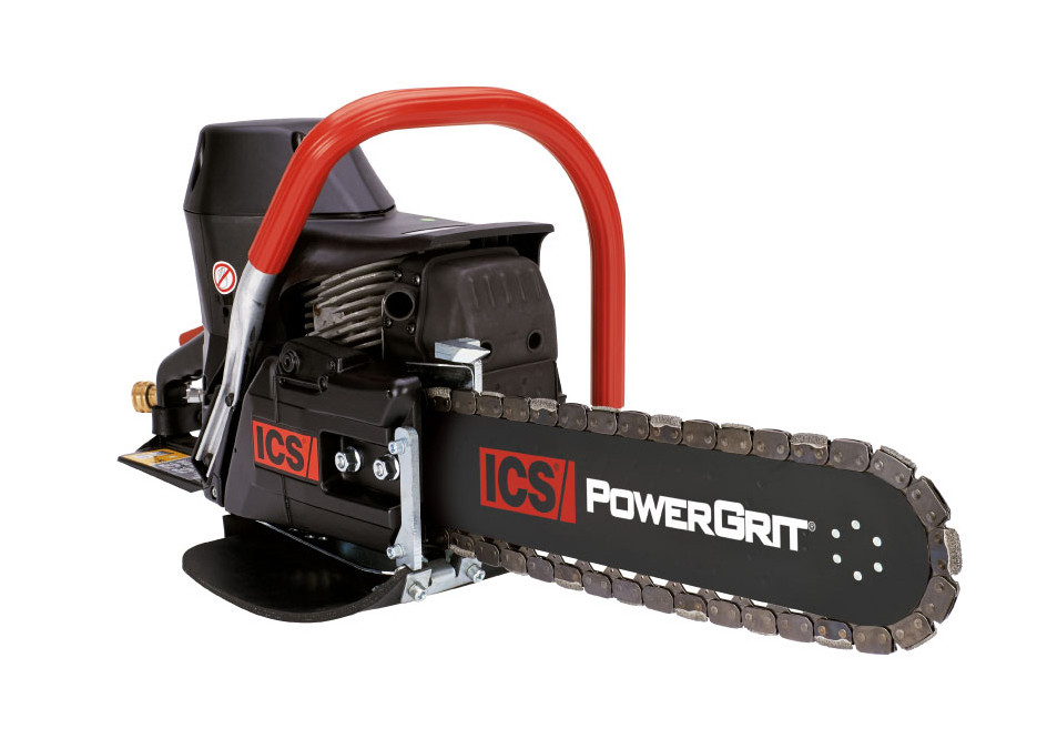 ICS 695XL PG-16 Petrol Power Cutter package with 40cm Guidebar, PowerGrit-29 Chain
