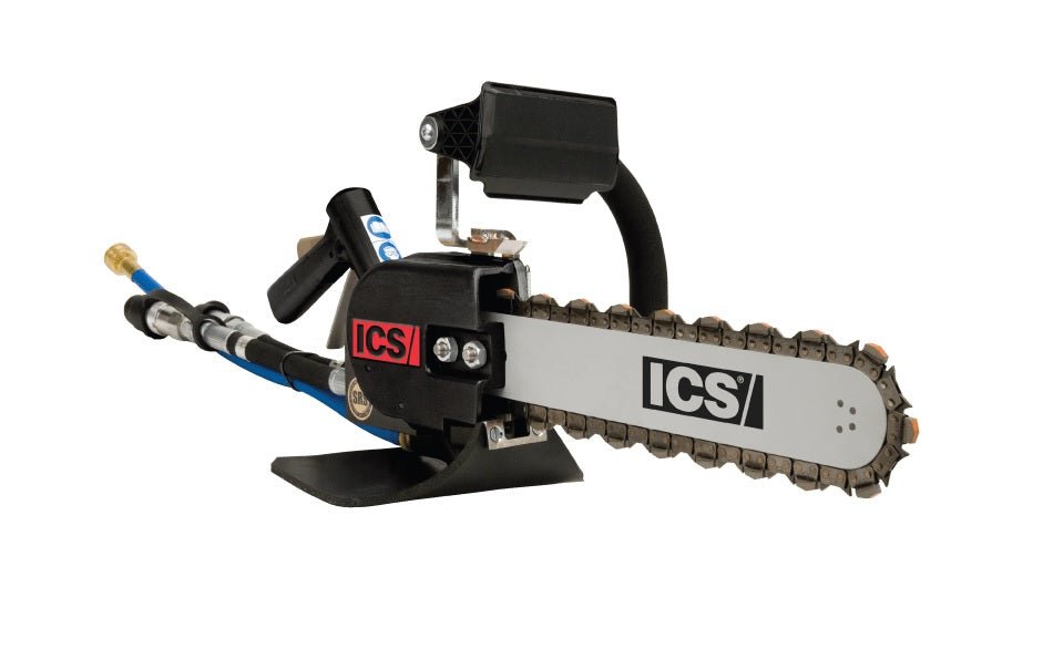ICS 814PRO Power Cutter Package with 33cm Guidebar and TwinPro-25 Diamond Chain