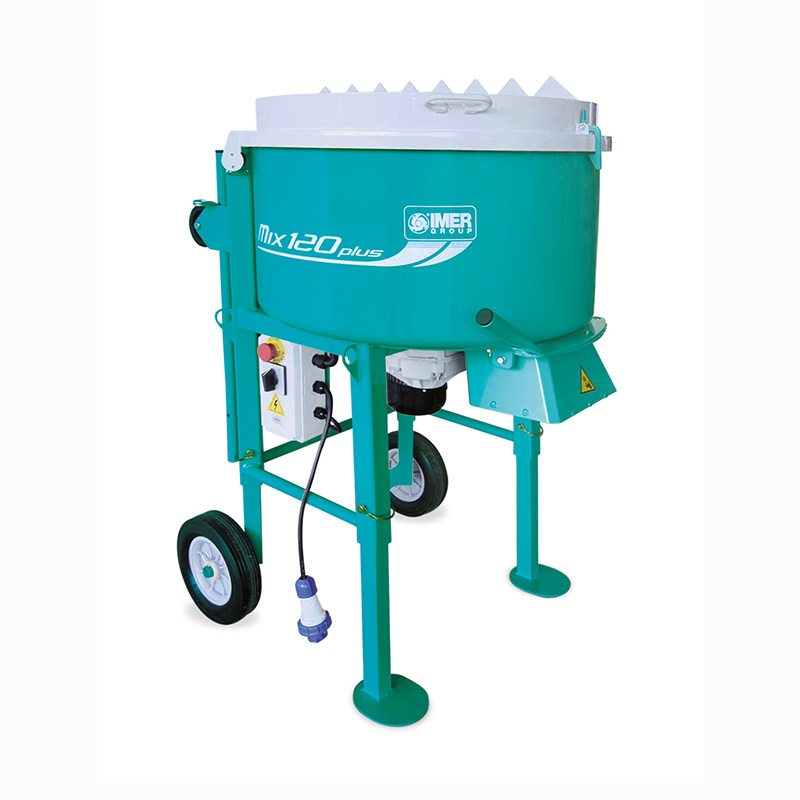 IMER 120 Plus Pan Mixer- Forced Action /Resin and Cement Multi Mixer