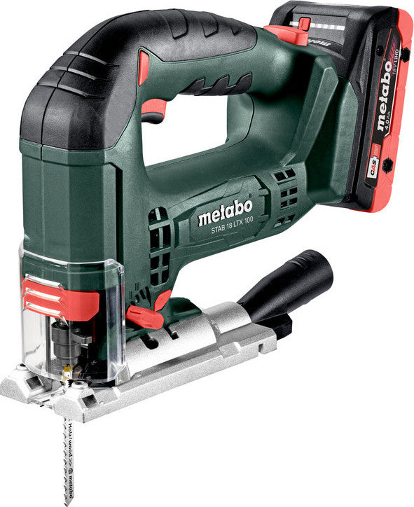 Metabo 18v Li-Ion Jig Saw STAB18 LTX100