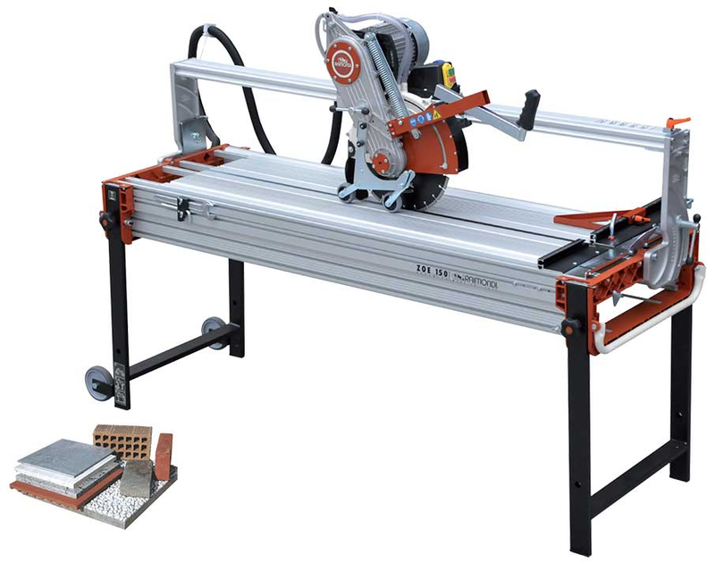 Raimondi PIKUS 130 Bridge Wet Saw 115V Machine
