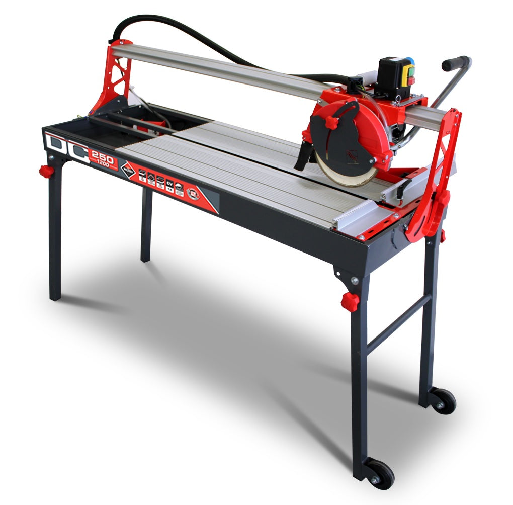 Rubi DC 250 1200- 1200mm Wet Bridge Tile Saw