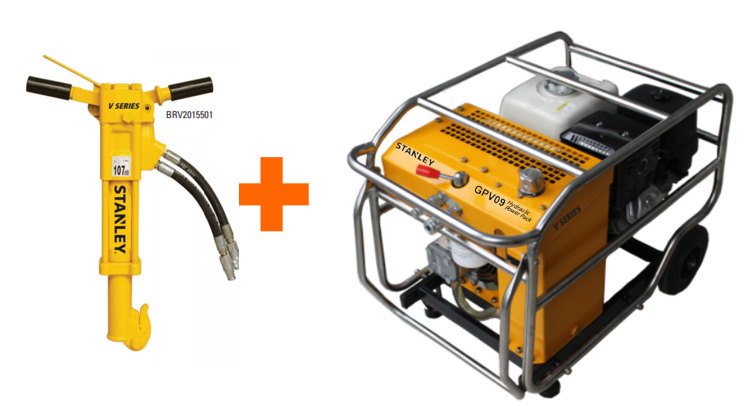 Stanley Hydraulic Power Packs/Breaker- Bundle Deal Offers