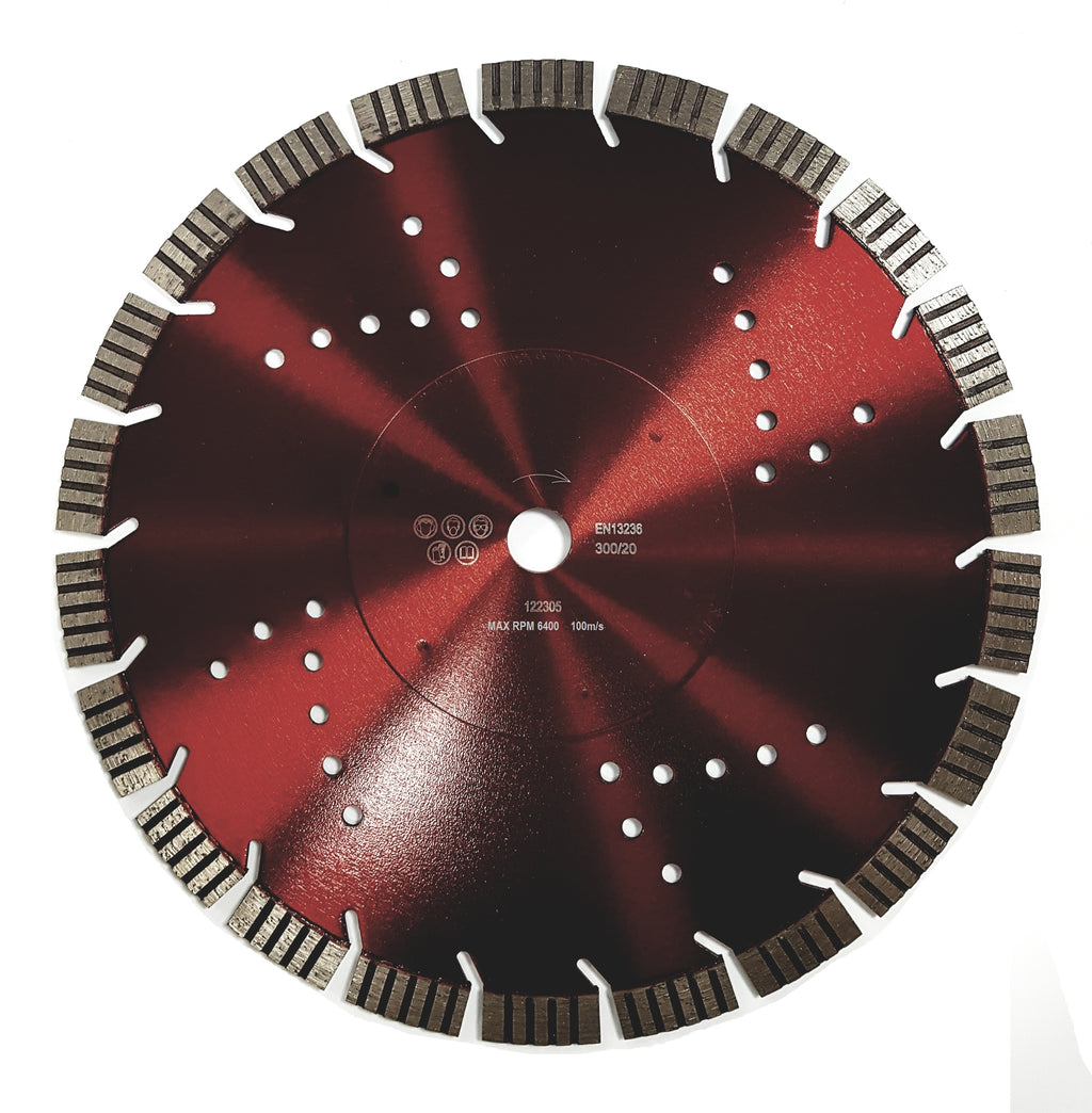 GY TCP Trade Cut Premium Turbo Segmented Diamond Blade