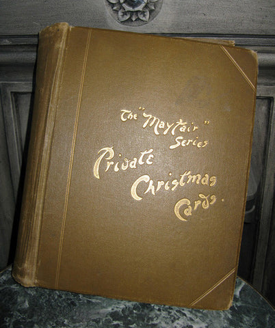 Edwardian scrapbook. LOOK INSIDE!