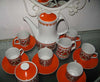 Complete 1960's coffee/tea set.