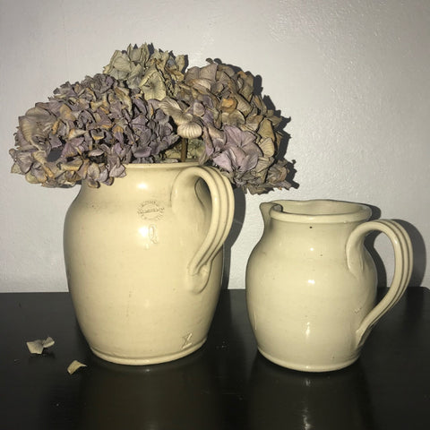 Pair of Royal Doulton stoneware jars