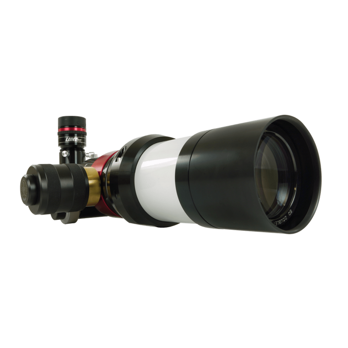 AstralScopes:Lunt LS60MT Modular Telescope H-Alpha Pressure Tuned with B1200 Filter and Feather Touch Focuser