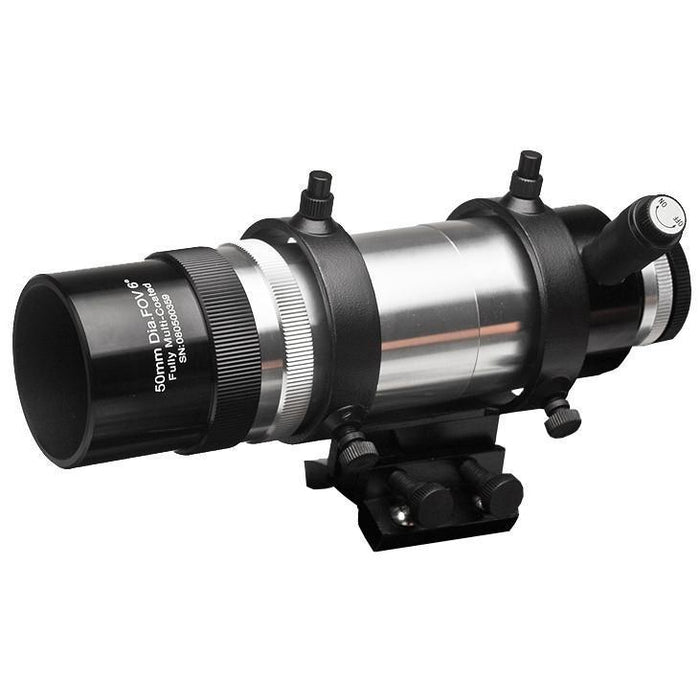 AstralScopes:Explore Scientific 8x50 Straight Through Illuminated Viewfinder with Bracket and NEW long battery life Illuminator II