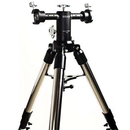 AstralScopes:Explore Scientific Twilight II Twin-Head AA Mount with Pier Extension