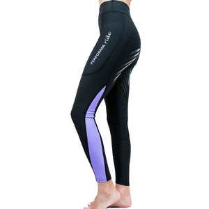 Youth Colour Block Summer Riding Tights