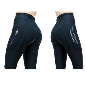 Personalised Logo Riding Tights