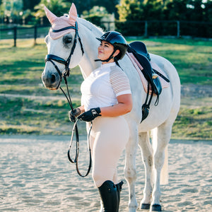 Youth Flexion Riding Tights - Competition