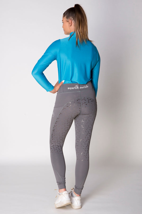 Double Pocket Full Seat Riding Tights