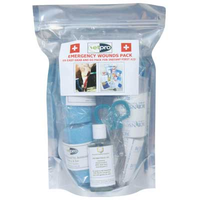 Vetpro Emergency Wound Kit