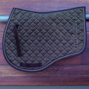 Liquid Glitter Saddle Blanket