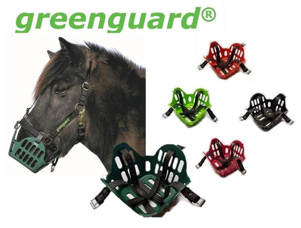 Green Guard Grazing Muzzle