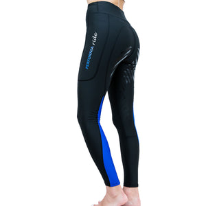 Colour Block Winter Riding Tights