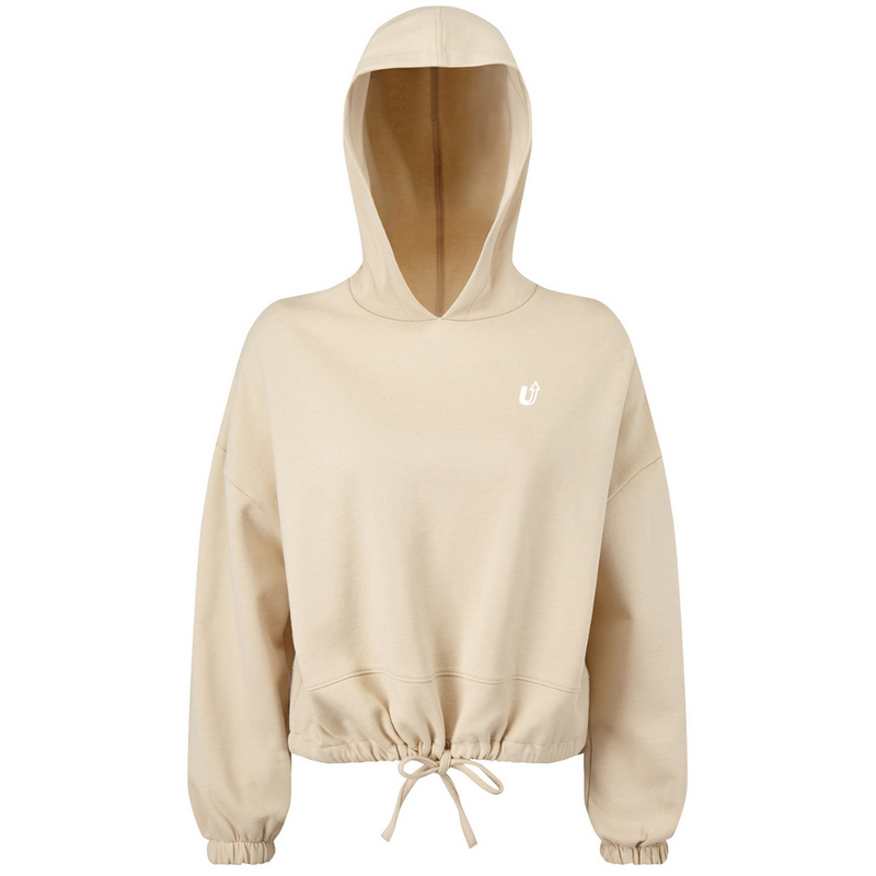 Supro Active Cropped Oversized Hoodie