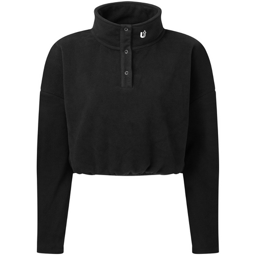 Supro Active Cropped Fleece Sweatshirt