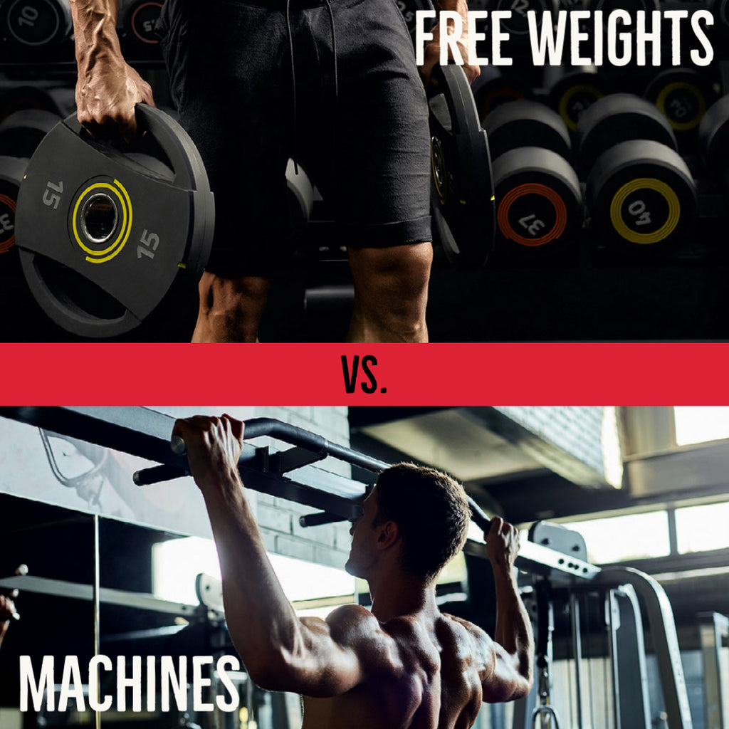 Battle of The Free Weights VS Machines