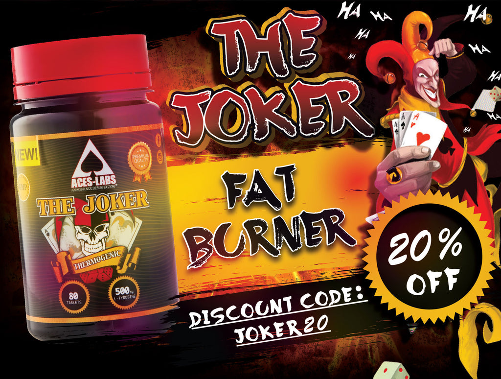 The Joker Fat Burner 20% OFF Sale!!