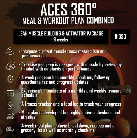 LEAN MUSCLE BUILDING & ACTIVATOR PACKAGE