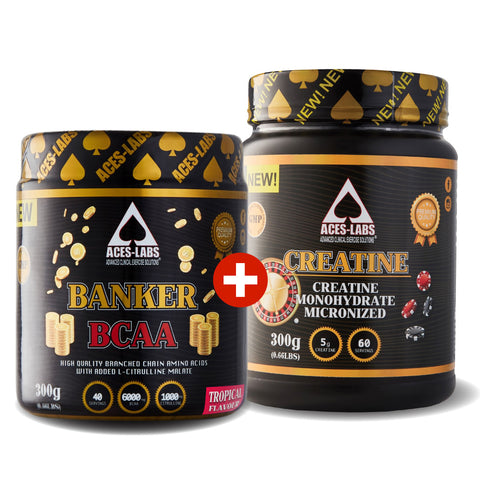 BANKER BCAA + CREATINE MONOHYDRATE 300G