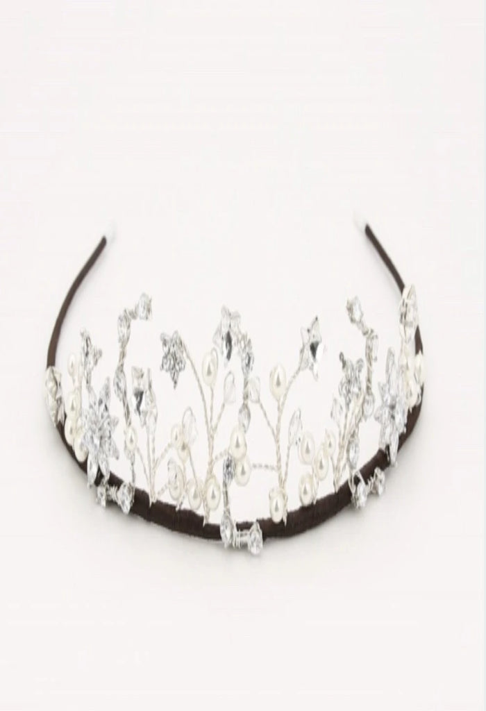 Richard Designs Delicate Star Tiara TR2595A