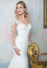 WHITE ROSE BRIDAL R1067