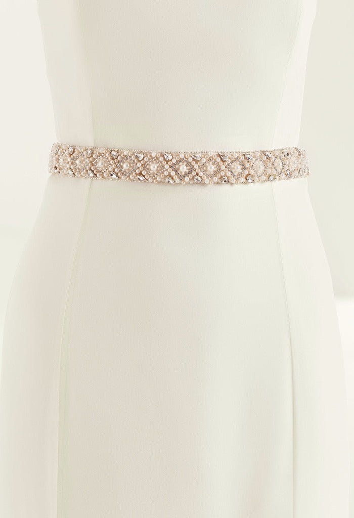 Bianco Evento Rose Belt PA65