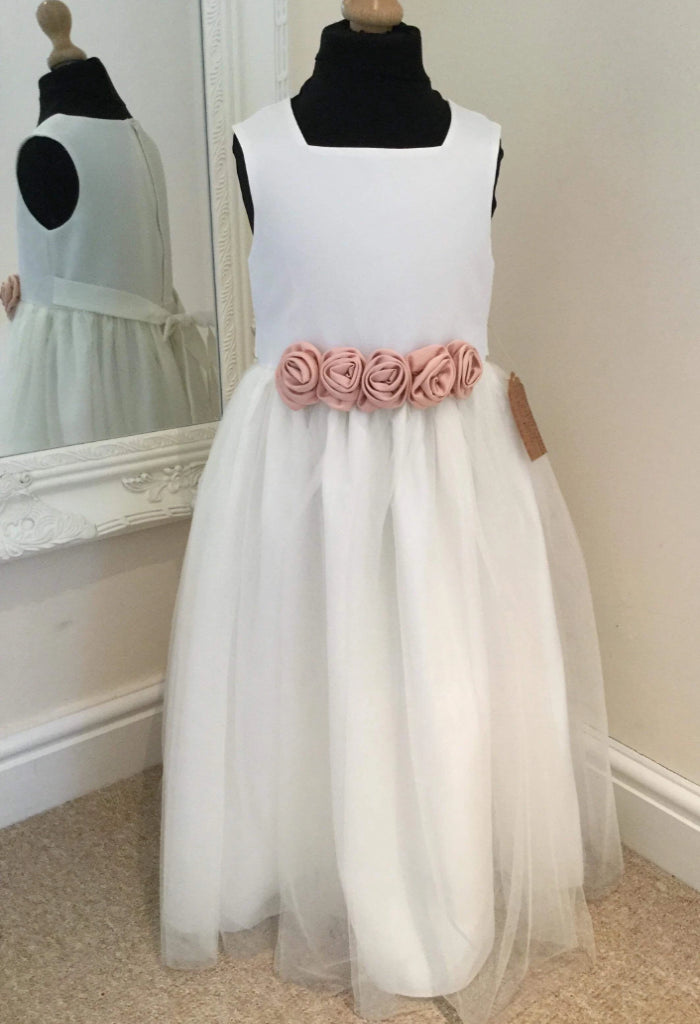 Flower Belt Dress