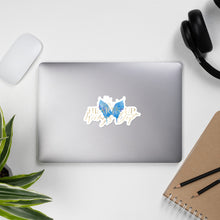 Load image into Gallery viewer, Bubble-free stickers - Blue Butterfly