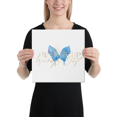 Canvas - Blue Butterfly